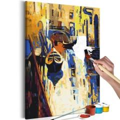Artgeist Malen nach Zahlen - Venedig (Gondeln)