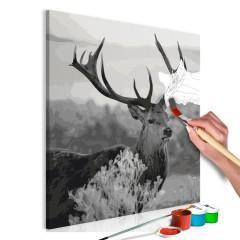 Malen nach Zahlen - Grey Wildness