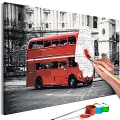 Malen nach Zahlen - London Bus