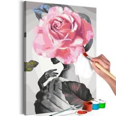 Malen nach Zahlen - Rose and Fur