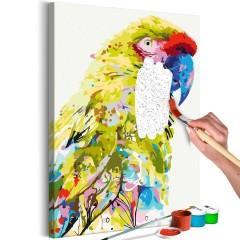 Malen nach Zahlen - Tropical Parrot