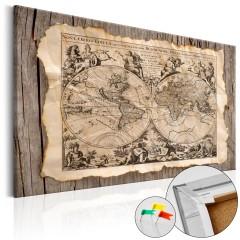 Artgeist Korkbild - Map of the Past [Cork Map]