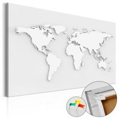 Artgeist Korkbild - Monochromatic World [Cork Map]