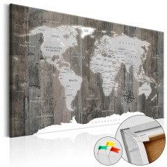Artgeist Korkbild - World of Wood [Cork Map]