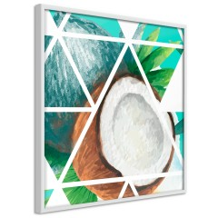 Poster - Coconut (Square) [Poster]