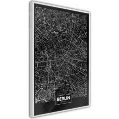 Poster - Dark Map of Berlin [Poster]