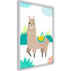 Poster - Unusual Lama [Poster]