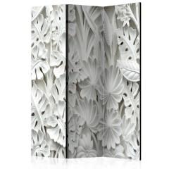 Artgeist 3-teiliges Paravent - Alabaster Garden II [Room Dividers]