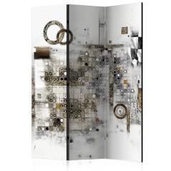 Artgeist 3-teiliges Paravent - Artistic Riddle [Room Dividers]