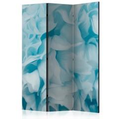 Artgeist 3-teiliges Paravent - Azalea (blue) [Room Dividers]