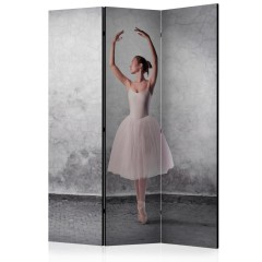 Artgeist 3-teiliges Paravent - Ballerina in Degas paintings style [Room Dividers]