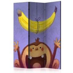 Artgeist 3-teiliges Paravent - Bananana [Room Dividers]