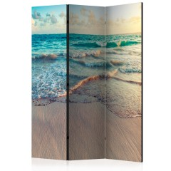 Artgeist 3-teiliges Paravent - Beach in Punta Cana [Room Dividers]