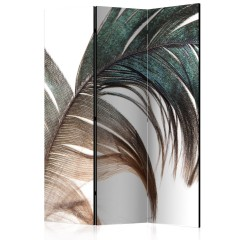 Artgeist 3-teiliges Paravent - Beautiful Feather [Room Dividers]