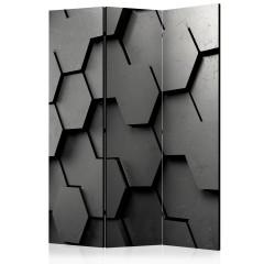 Artgeist 3-teiliges Paravent - Black Gate [Room Dividers]