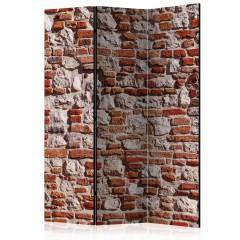 Artgeist 3-teiliges Paravent - Bricky Age [Room Dividers]