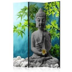 Artgeist 3-teiliges Paravent - Buddha: Beauty of Meditation [Room Dividers]