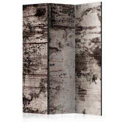 Artgeist 3-teiliges Paravent - Burnt Wood [Room Dividers]
