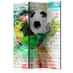 Artgeist 3-teiliges Paravent - Colourful Sport [Room Dividers]