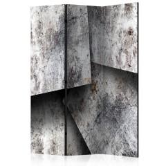 Artgeist 3-teiliges Paravent - Concrete cards [Room Dividers]