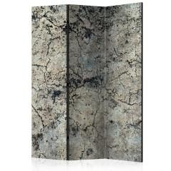 Artgeist 3-teiliges Paravent - Cracked Stone [Room Dividers]