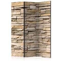 Artgeist 3-teiliges Paravent - Decorative Stone [Room Dividers]