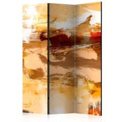 Artgeist 3-teiliges Paravent - Desert storm [Room Dividers]