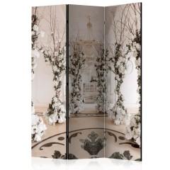 Artgeist 3-teiliges Paravent - Flower Chamber [Room Dividers]