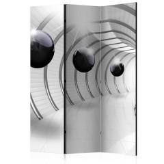 Artgeist 3-teiliges Paravent - Futuristic Tunnel [Room Dividers]