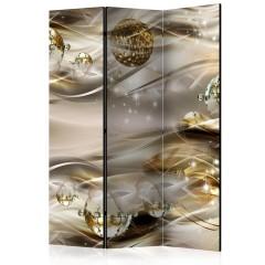Artgeist 3-teiliges Paravent - Golden Nebula [Room Dividers]