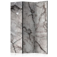 Artgeist 3-teiliges Paravent - Grey Marble [Room Dividers]