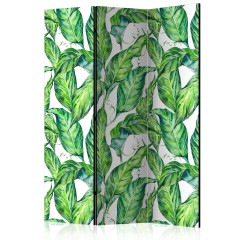 Artgeist 3-teiliges Paravent - Long Leaves [Room Dividers]