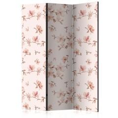 Artgeist 3-teiliges Paravent - Magnolia Twigs [Room Dividers]