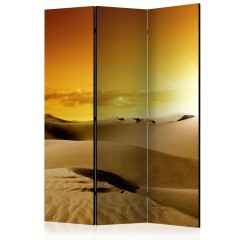 Artgeist 3-teiliges Paravent - March of camels [Room Dividers]