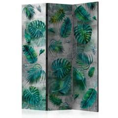 Artgeist 3-teiliges Paravent - Modernist Jungle [Room Dividers]