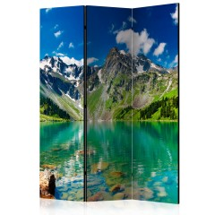 Artgeist 3-teiliges Paravent - Mountain lake [Room Dividers]