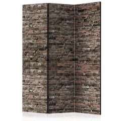 Artgeist 3-teiliges Paravent - Old Brick [Room Dividers]