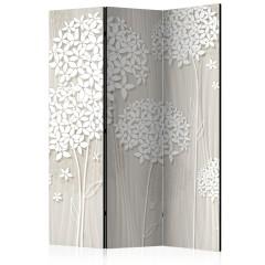 Artgeist 3-teiliges Paravent - Paper Dandelions [Room Dividers]