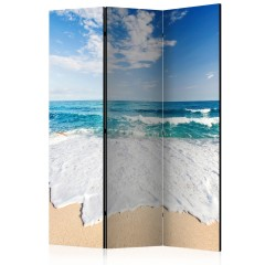Artgeist 3-teiliges Paravent - Photo wallpaper – By the sea [Room Dividers]