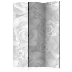 Artgeist 3-teiliges Paravent - Plaster Flowers [Room Dividers]