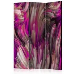 Artgeist 3-teiliges Paravent - Purple Energy [Room Dividers]