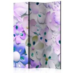 Artgeist 3-teiliges Paravent - Purple Sweetness [Room Dividers]