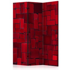 Artgeist 3-teiliges Paravent - Red Imagination [Room Dividers]