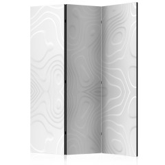 Artgeist 3-teiliges Paravent - Room divider - White waves I