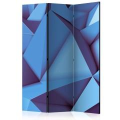 Artgeist 3-teiliges Paravent - Royal Blue [Room Dividers]