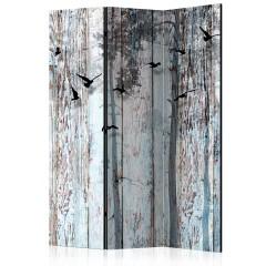 Artgeist 3-teiliges Paravent - Rustic Boards [Room Dividers]