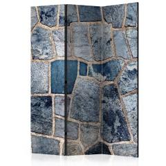 Artgeist 3-teiliges Paravent - Sapphire Stone [Room Dividers]