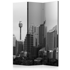 Artgeist 3-teiliges Paravent - Skyscrapers in Sydney [Room Dividers]
