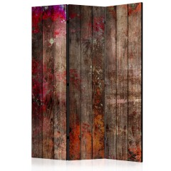 Artgeist 3-teiliges Paravent - Stained Wood [Room Dividers]