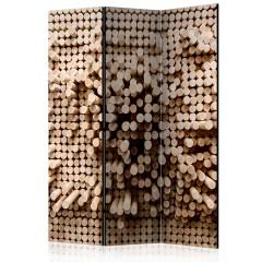 Artgeist 3-teiliges Paravent - Stick Puzzle [Room Dividers]